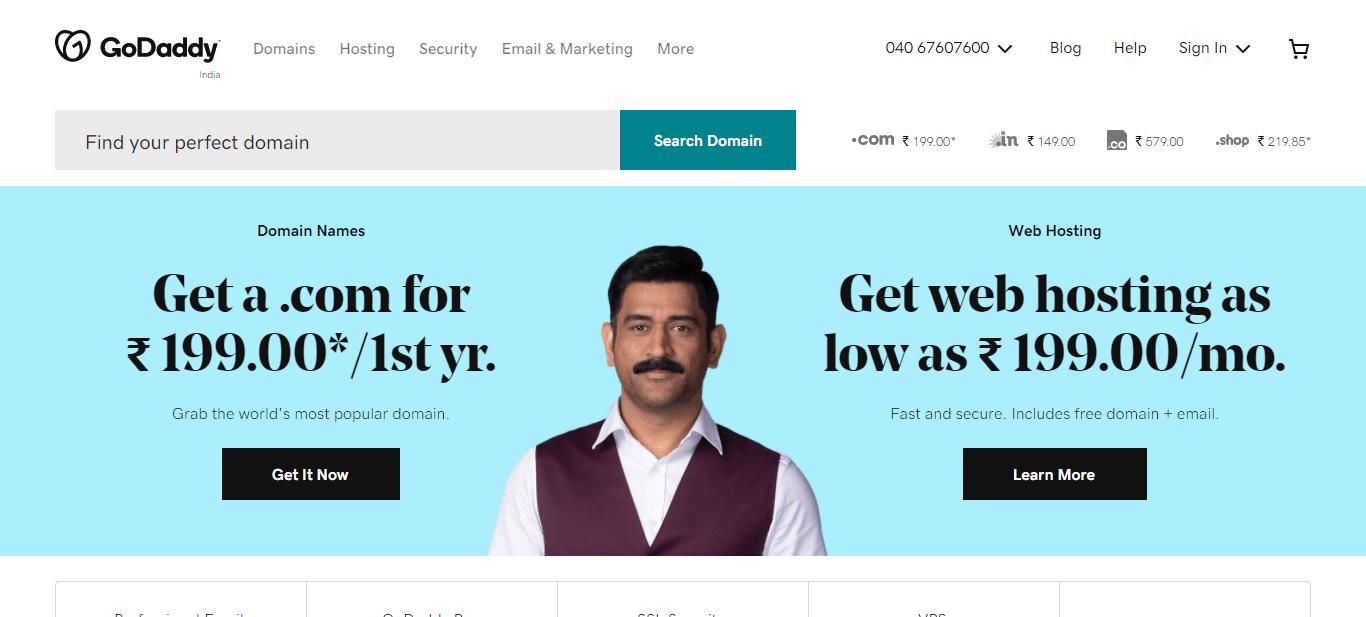 screenshot in.godaddy.com 2021.09.14 22 24 22